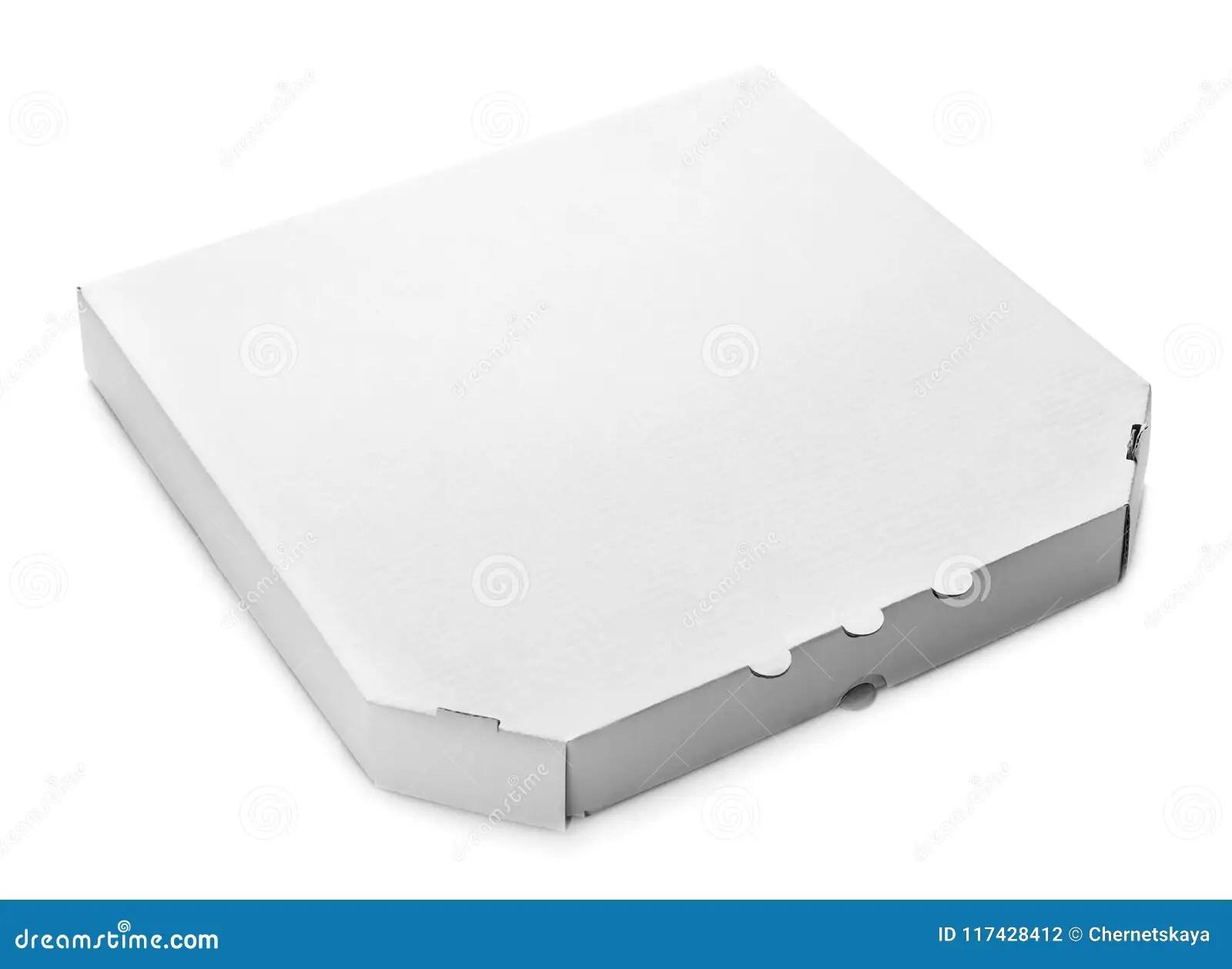 mockup of cardboard pizza