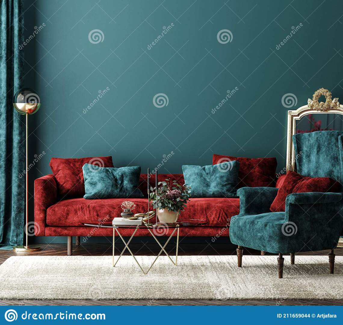 Modern Red Sofa Green Luxury Interior Stock Illustrations 1 266 Modern Red Sofa Green Luxury Interior Stock Illustrations Vectors Clipart Dreamstime
