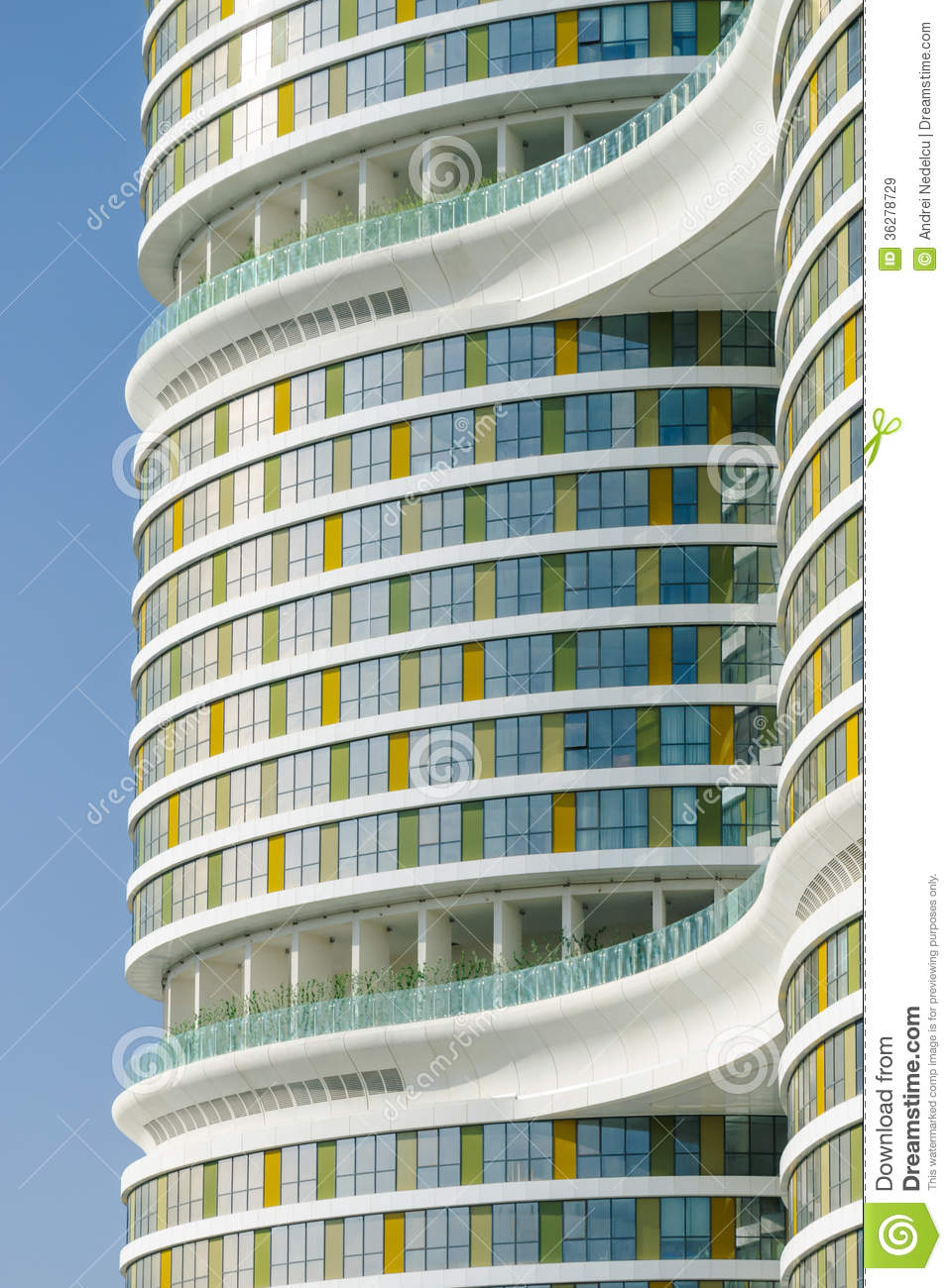 Modern Architecture Facade Stock Image Image Of Istanbul