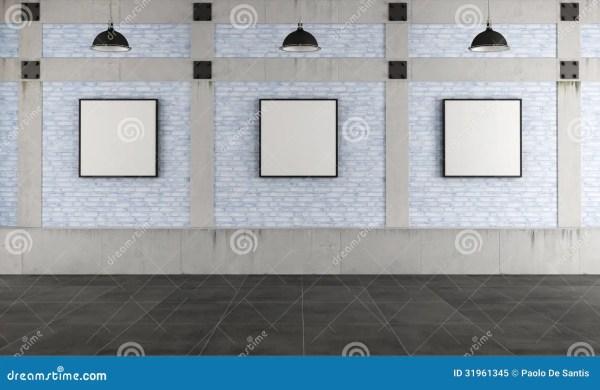 Modern Art In Loft Royalty Free Stock - 31961345
