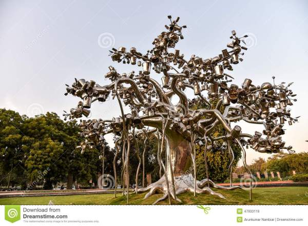 Modern Tree Sculptures