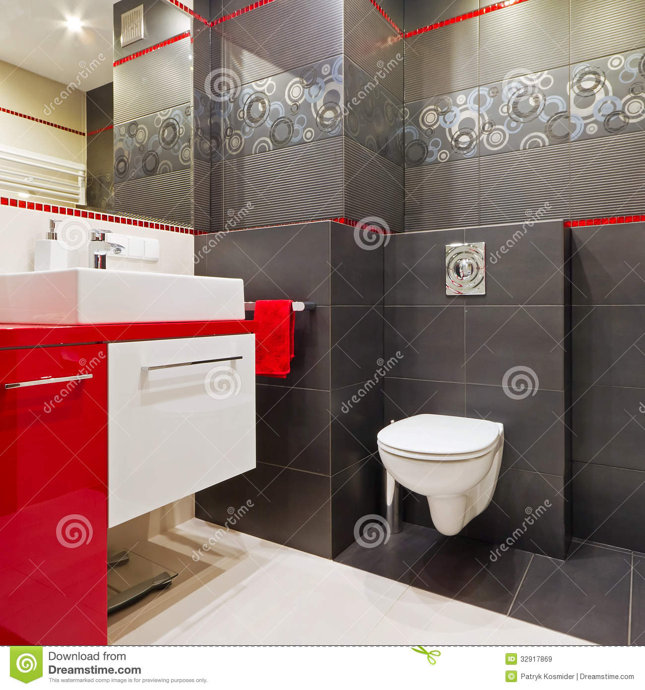 Modern Bathroom Interior Royalty Free Stock Images  Image