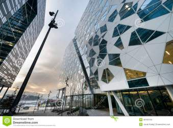 oslo architecture modern buildings norway editorial development barcode