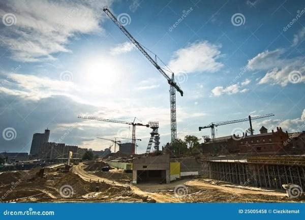 Modern Construction Site