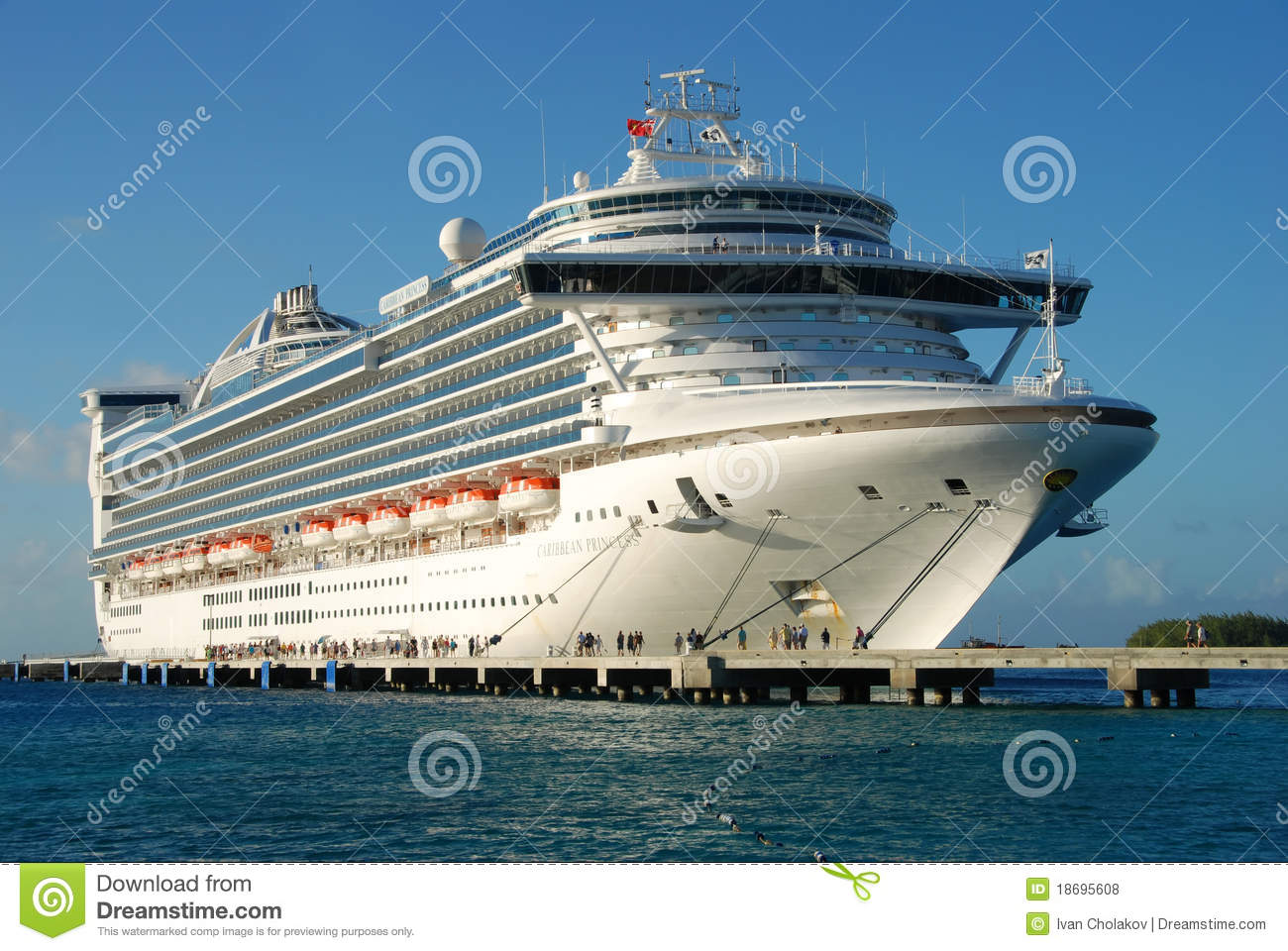 Modern Cruise Ship Editorial Stock Photo  Image 18695608