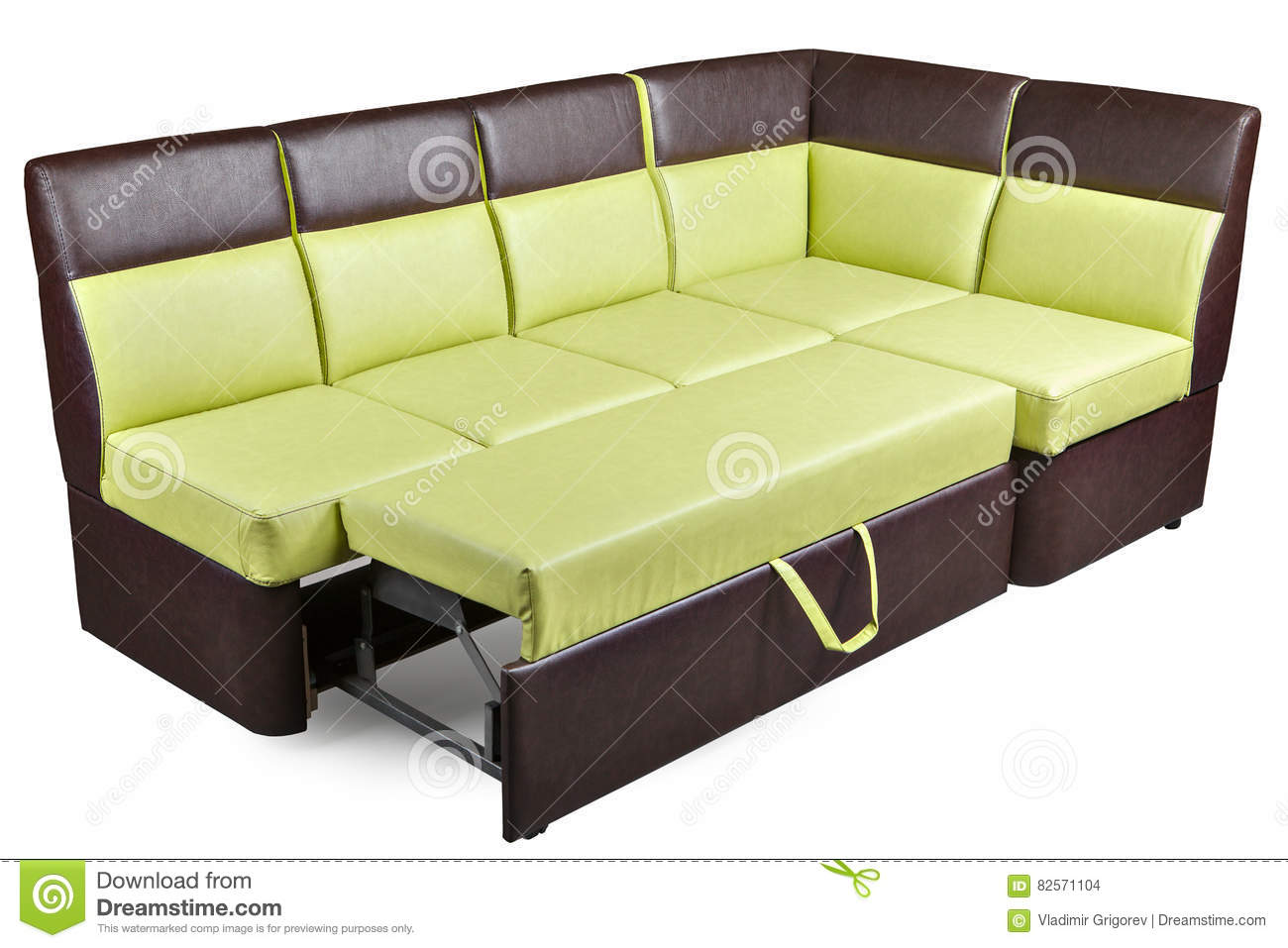 sleeper sofa leather white wrap modern decomposed sectional brown and ...