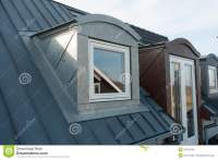 Modern Vertical Roof Windows Stock Image - Image of ...
