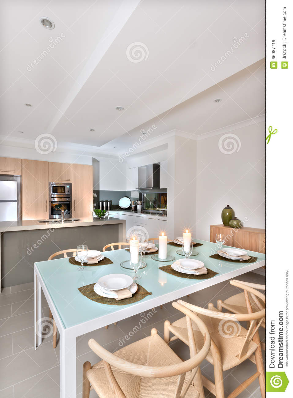 kitchen candles remodel budget estimator modern dining room setup with flashing in front of the