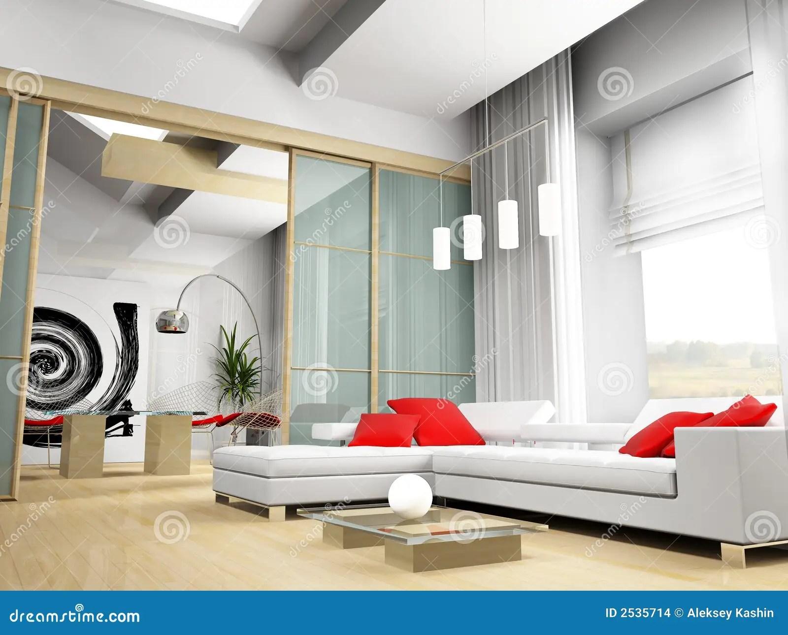 Modern drawing room stock illustration Illustration of luxury  2535714