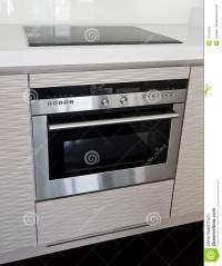 Modern Electric Stove And Oven Stock Photo - Image of dial ...