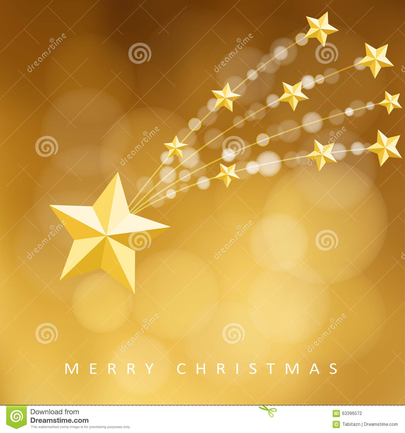 Falling Stars Wallpaper Modern Golden Christmas Greeting Card Invitation With