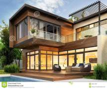 Exterior House Modern Interior Design