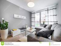 Modern Interior Design Living Room Stock Photo - Image ...
