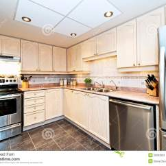 Modern Kitchen Appliances Makeovers Ideas With Stock Image Of