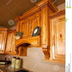 Kitchen Remodel Prices Antique Blue Cabinets Modern Range Hood Stock Image - ...