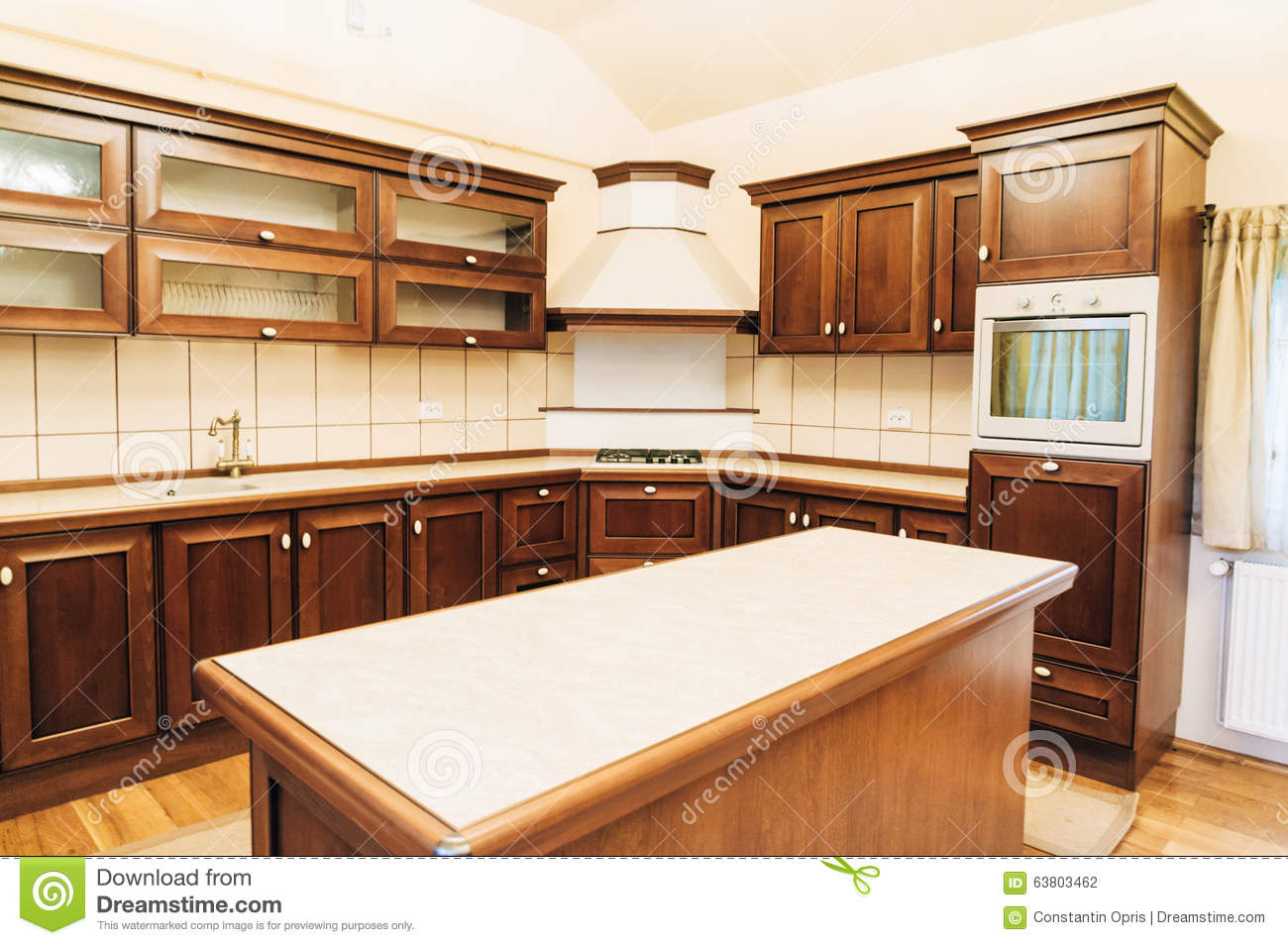 design new kitchen layout pull out faucet modern stock photo image of hood