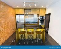 Modern Kitchen stock photo. Image of furniture, design ...
