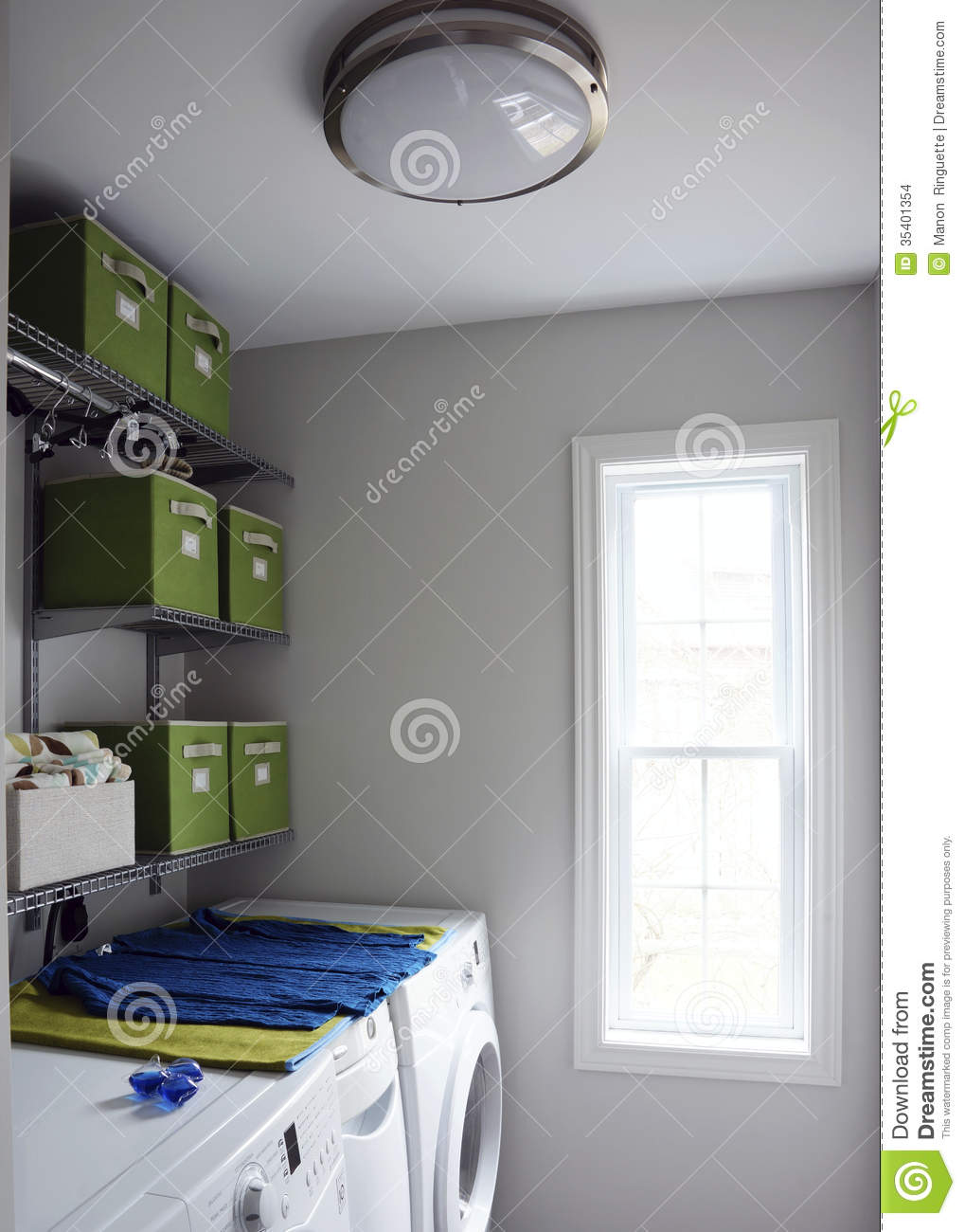 Modern Laundry Room Stock Images  Image 35401354