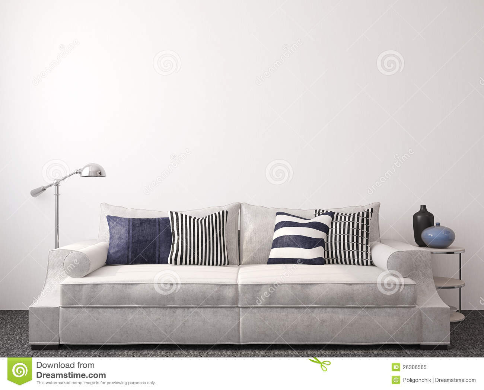 Modern Livingroom Royalty Free Stock Photo  Image 26306565
