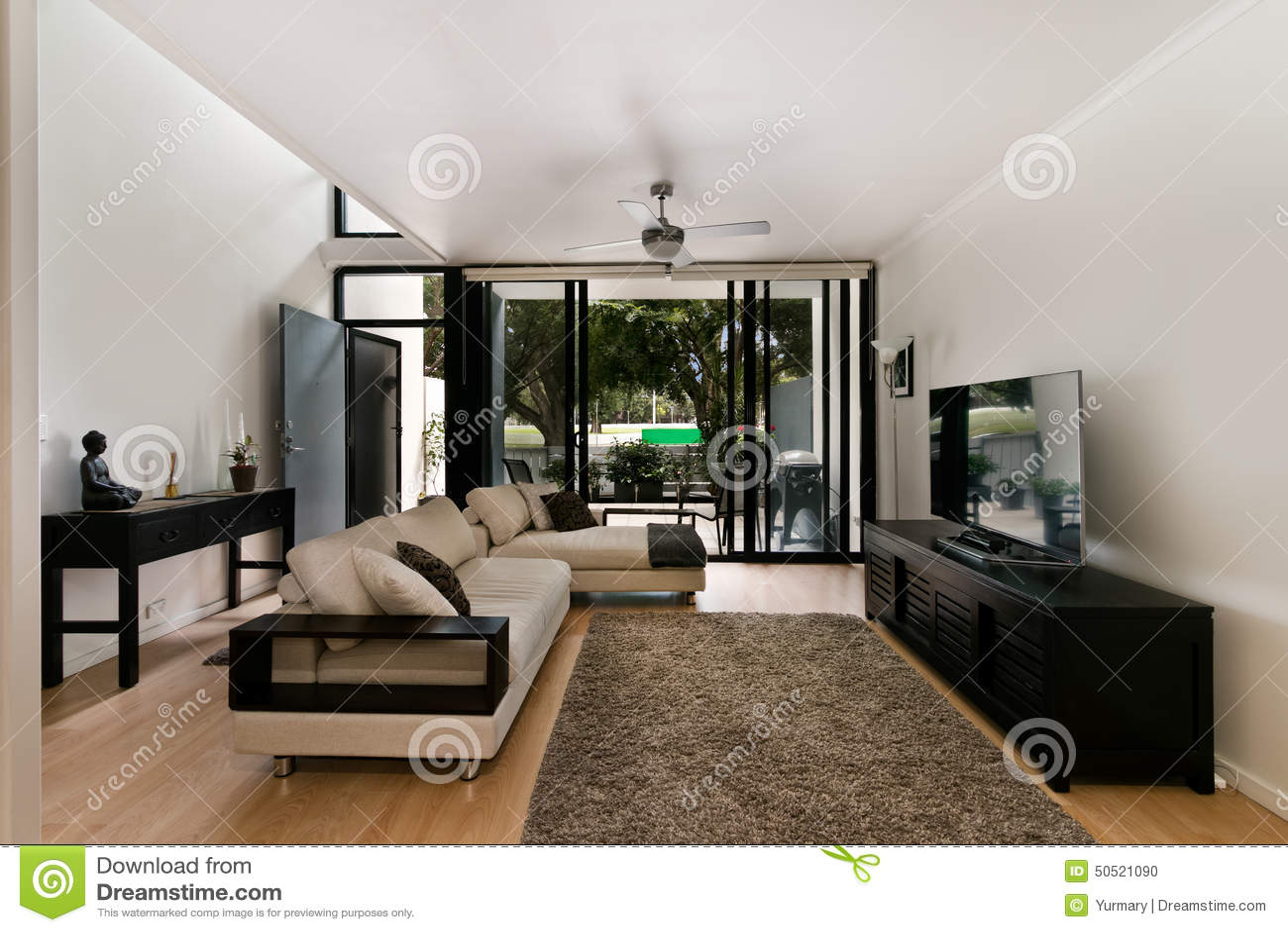 Modern Living Room Stock Photo Image 50521090