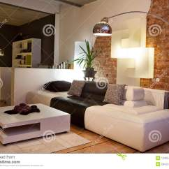 Living Room Furniture Ma Interior Design Of Modern Sofa Couch Stock Photo Image