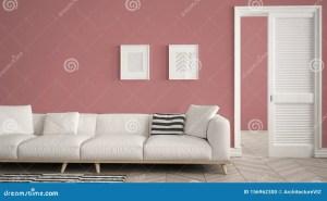 living sofa carpet door open purple parquet herrigbone template copy space interior
