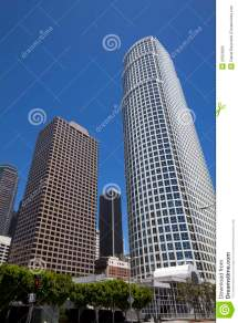Modern Los Angeles Downtown Buildings Cityscape Royalty