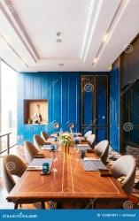 dining vip room luxury modern restaurant elegant fine interior bangkok cityscape decorated preview brown