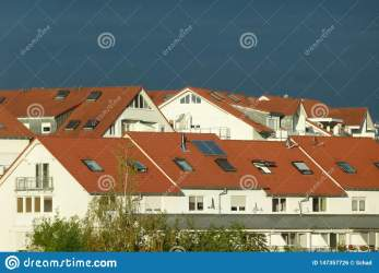 Terraced House In Contemporary Style Stock Photo Image of architecture brick: 147357726