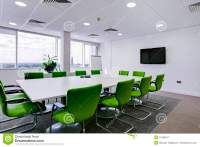 Modern office boardroom stock image. Image of white ...