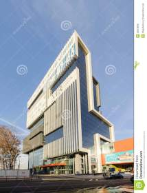 Modern Office Building Facade