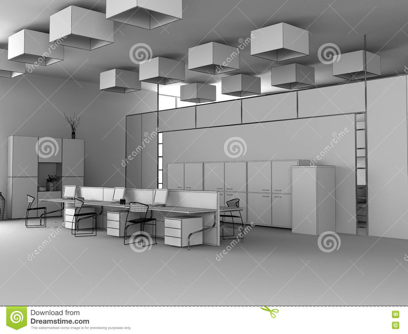Office Furniture 3d Max Free