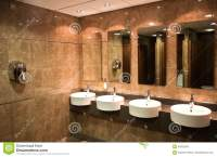 Modern Public Toilet Stock Photo - Image: 46352956