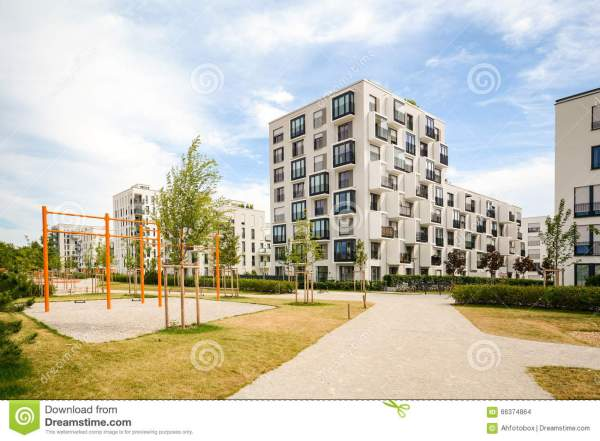 Modern Residential Apartment Building