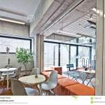 Modern Restaurant Bar Or Cafe Interior Stock Image Image Of Interior Modern 108812757