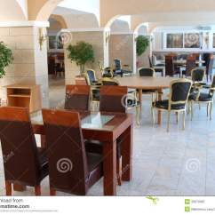 Restaurant Tables And Chairs Wholesale Cafe Wooden Modern Furniture Royalty Free Stock Photography