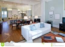 Modern Studio Apartment Royalty Free Stock