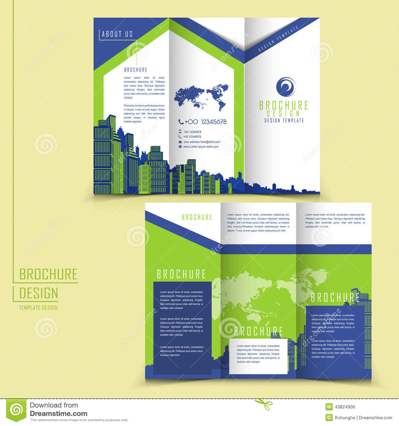 Example Of Tri Fold Brochure Ideal Vistalist Co