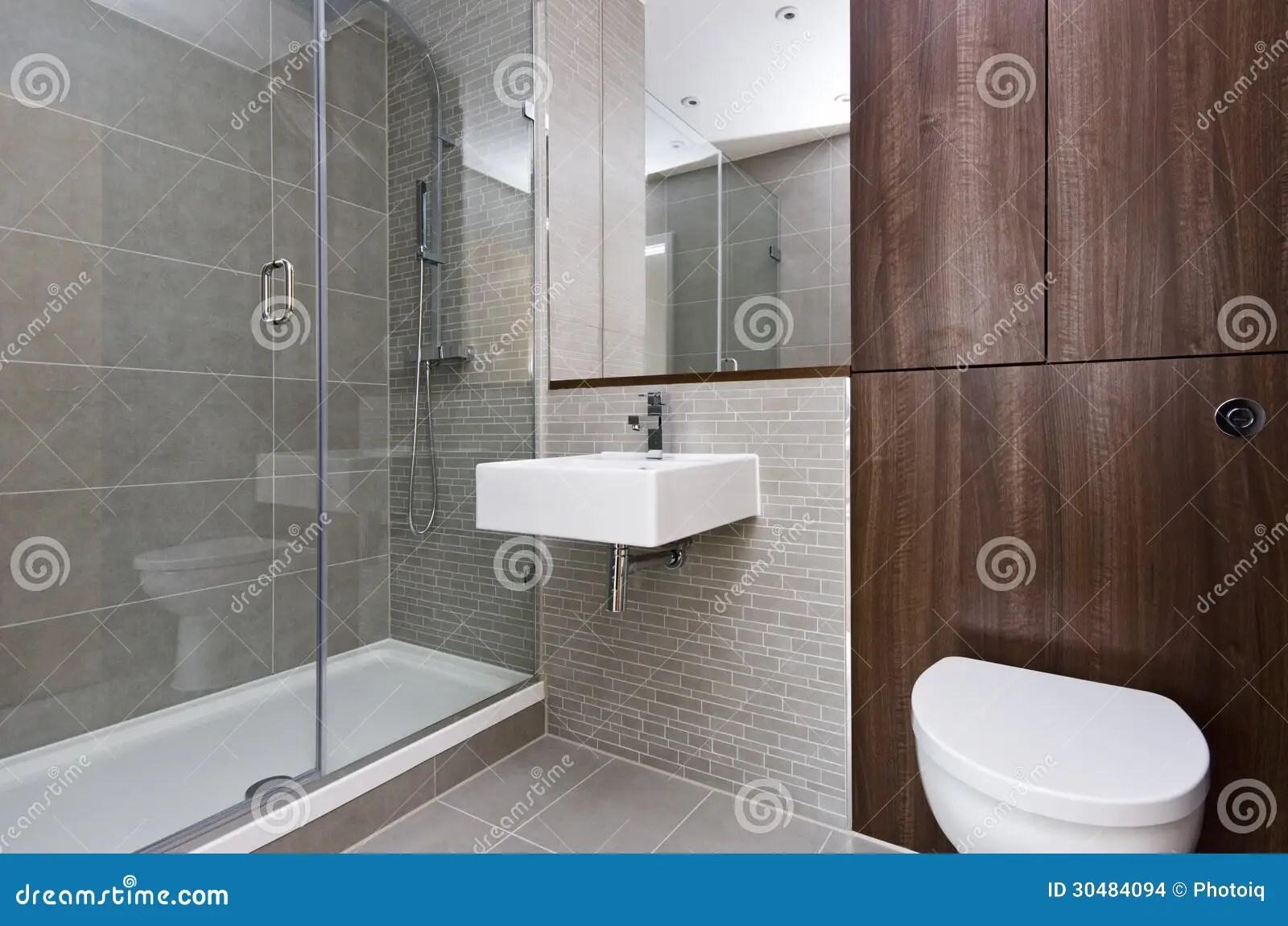 Modern Three Piece Bathroom Suite Stock Images  Image 30484094