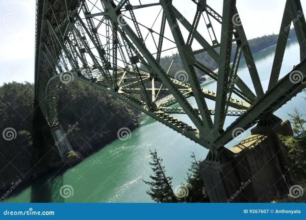 Modern Truss Bridge Royalty Free Stock - 9267607