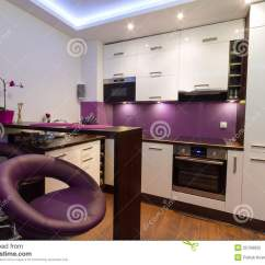 Kitchen Chair Design Plans Modern White Leather Office And Purple Stock Image - Of Modern, Fashion: 25709955