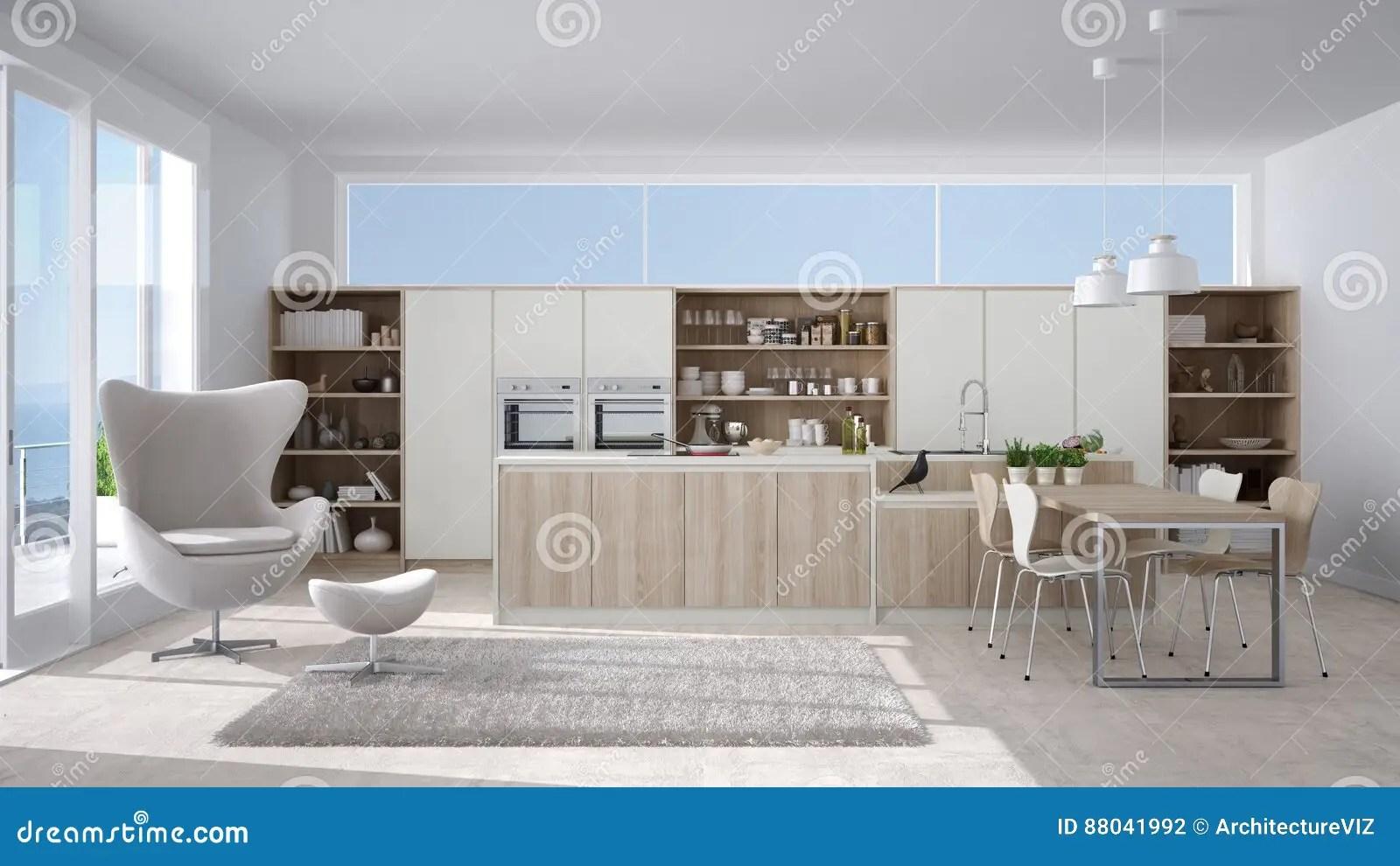 Moderne Weisse Kuche Mit Kochinsel Kuche Mit Kochinsel Modern