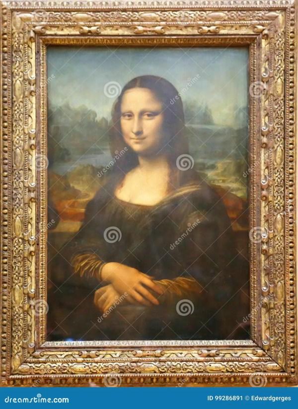 Mona Lisa Painting Louvre