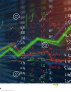 Money investing and stock market concept gain profits with faded candlestick charts also rh dreamstime