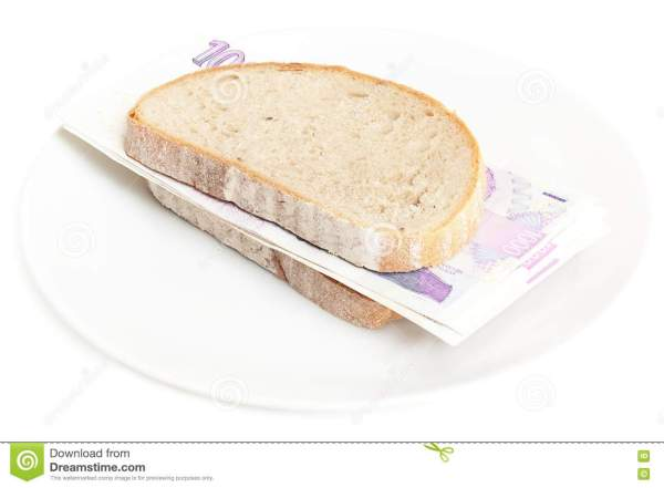 Money Sandwich Stock Image Image 20134181