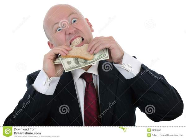 Money Sandwich Royalty Free Stock Image Image 34300056