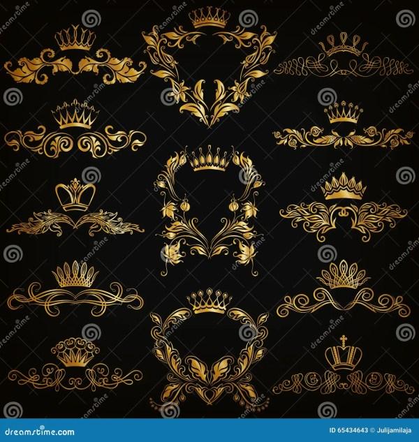 Black and Gold Royal Border