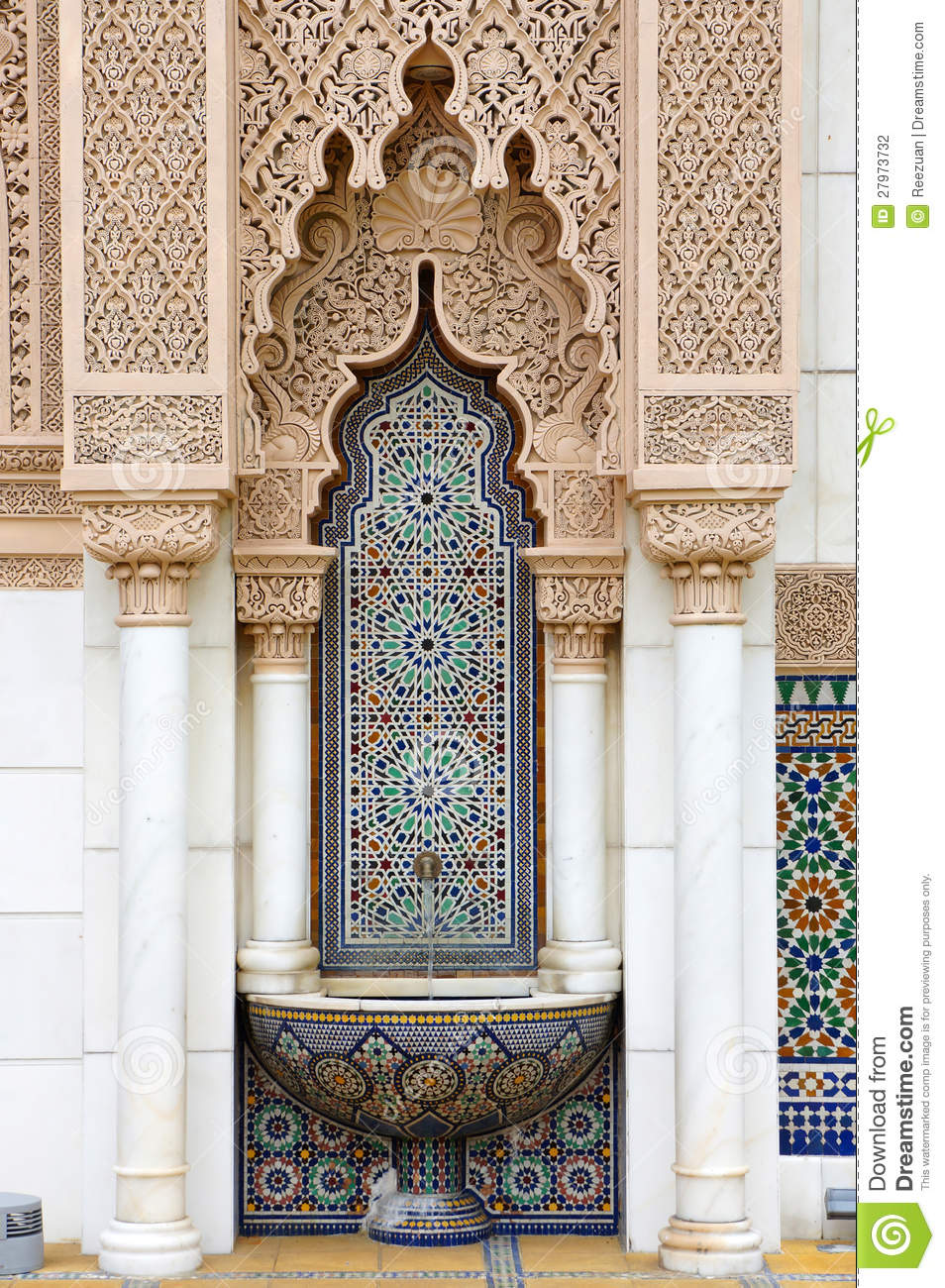 Moroccan architecture stock photo Image of countryside