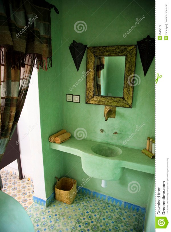 Moroccan Bathroom Royalty Free Stock - 2020176