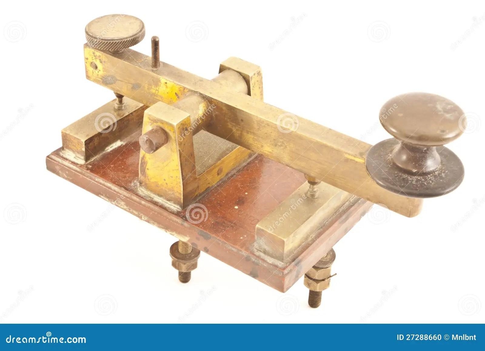 Morse Code Key Stock Photo Image Of Ancient Antiquated
